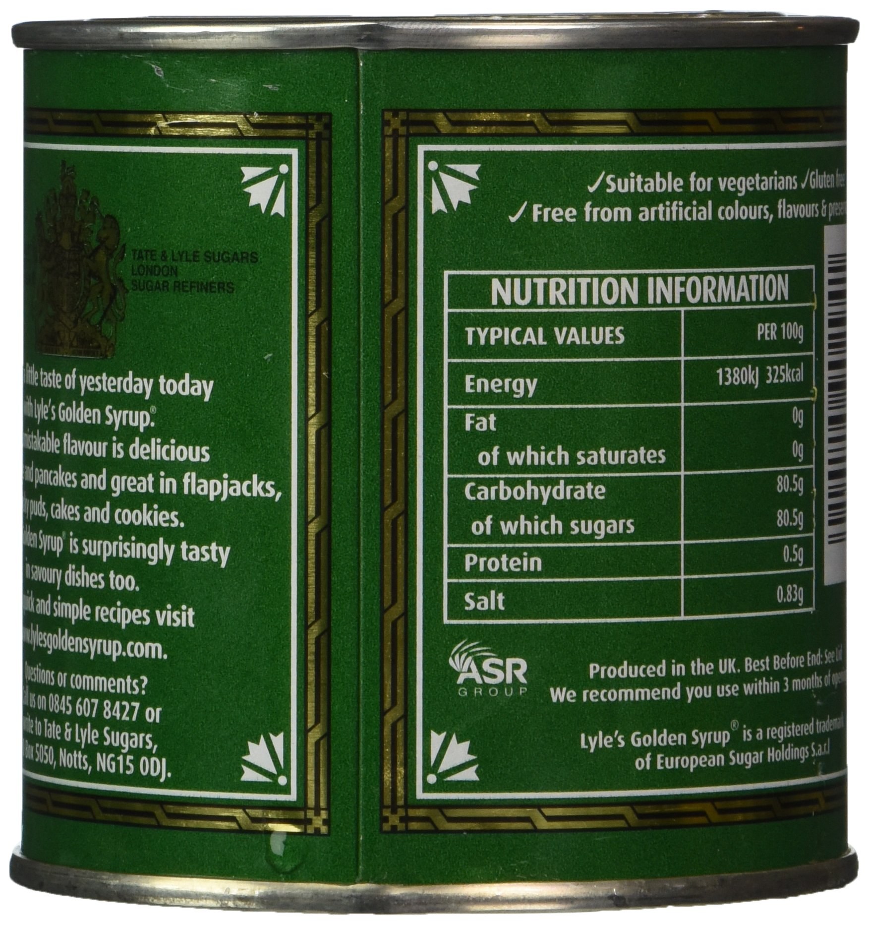 Tate & Lyle Golden Syrup - Case of 12 X 454 Gram Containers by Tate & Lyle (Image #4)