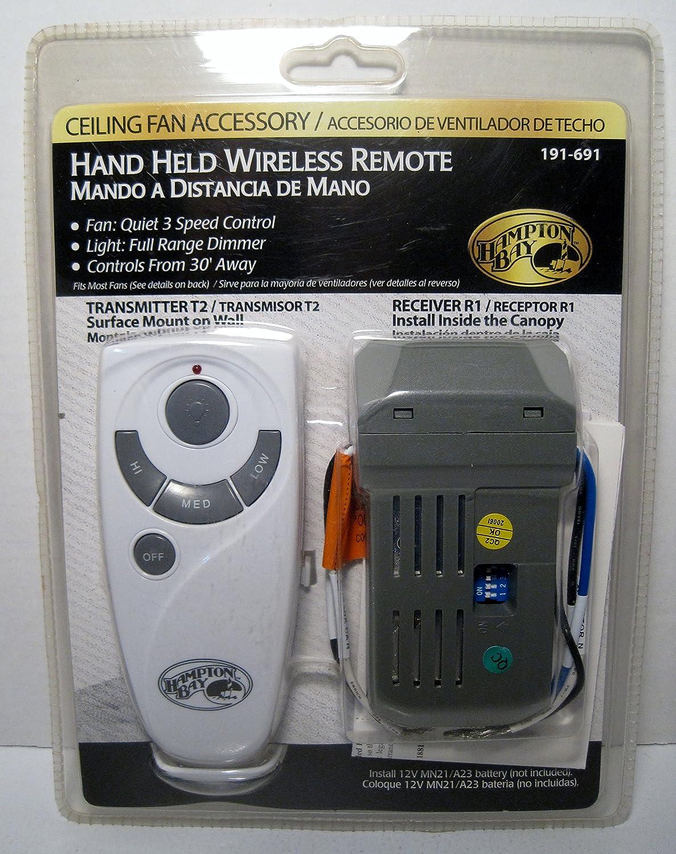 Hampton Bay 70830 FBA/_191 691 fan remote