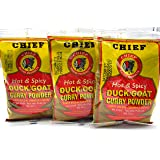 Hot & Spicy Duck Goat Curry Powder - 3oz bag Pack of 3