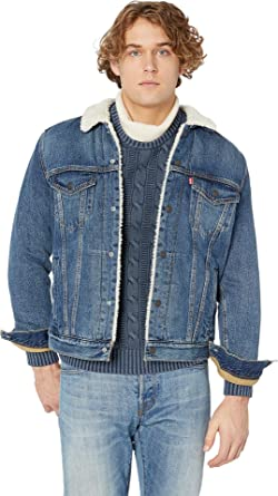 04f21040bb7 Image Unavailable. Image not available for. Color  Levi s¿ Mens Men s Type  III Sherpa Trucker Jacket ...