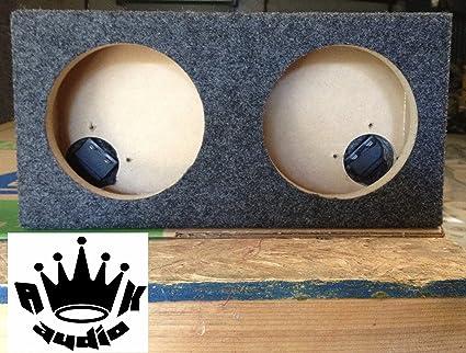 6 5 Dual Speaker Box Enclosure 6 1 2 Car Speaker Coaxial 5 125 Hole Cutout