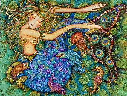 Amazon leanin tree greeting card holly sierra mermaid leanin tree greeting card holly sierra mermaid m4hsunfo