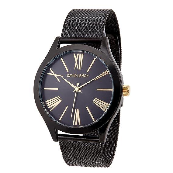 Reloj Mk Negro De Mujer Joyas De Plata