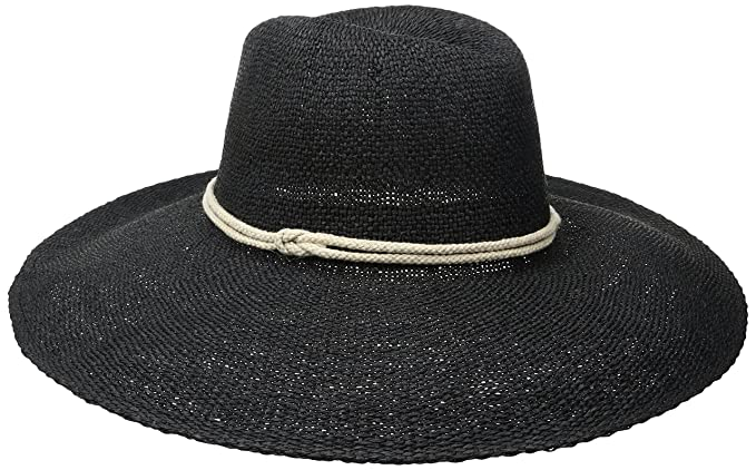 8c76c02a930  ale by alessandra Women s Praia Woven Toyo Hat With Contrast Rope Trim