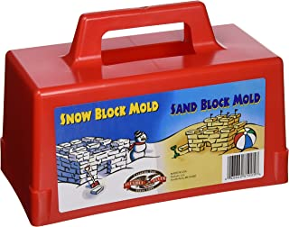 product image for Flexible Flyer Snow Fort Building Block, Sand Castle Mold, Beach Toy Brick Form, 1 Mold (605)