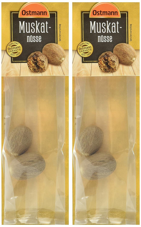 Ostmann Muskatnusse 2er Pack 2 X 2 Stuck Amazon De Lebensmittel Getranke