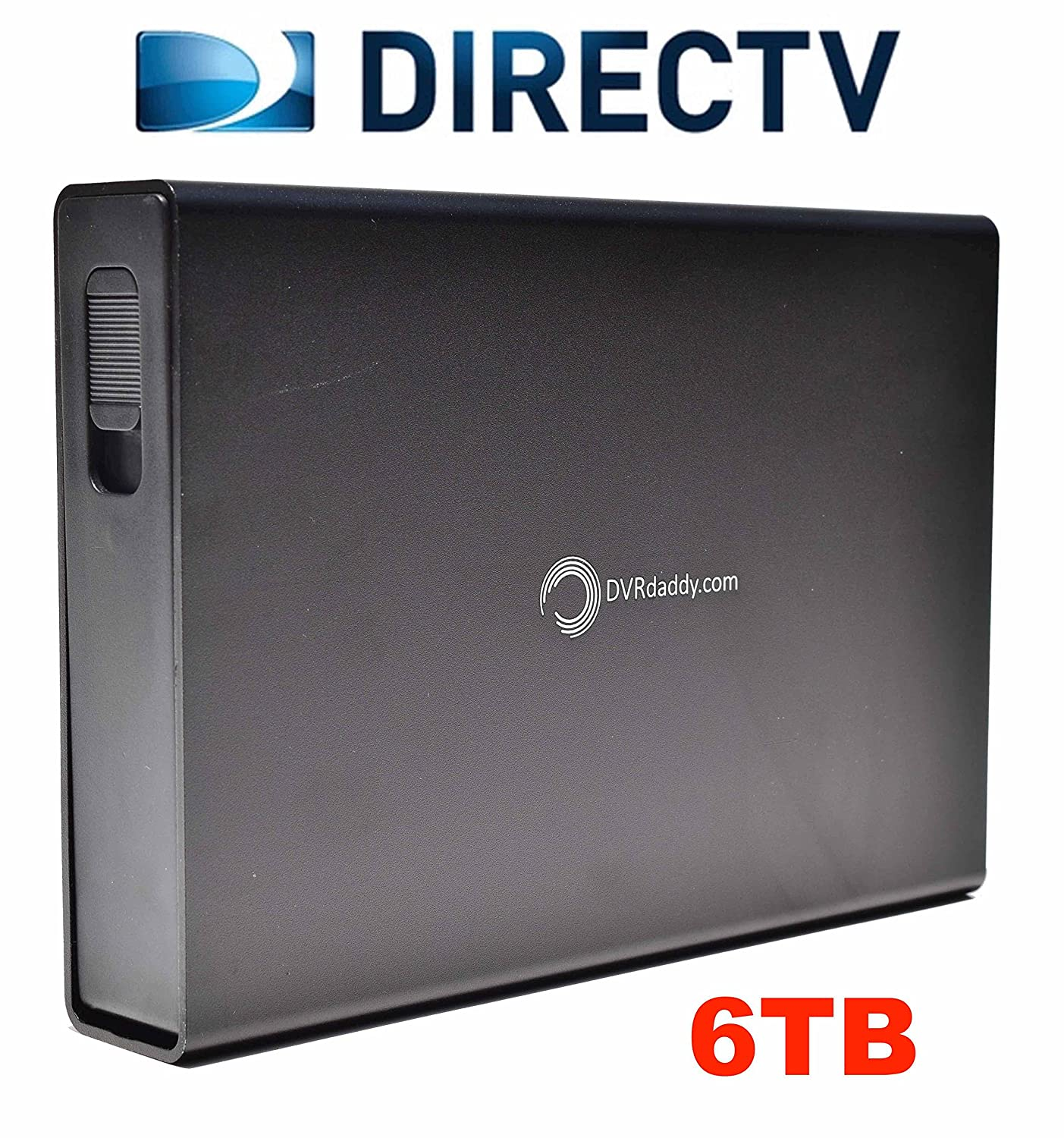 Amazon.com: 6TB DVRdaddy External DVR Hard Drive Expander For DirecTV HR34,  HR44 and HR54 Genie DVR. +6,000 Hours Recording Capacity and!: