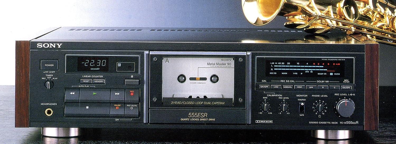 SONY ソニー TC-K555ESR カセットデッキ   B00FZLN9EI