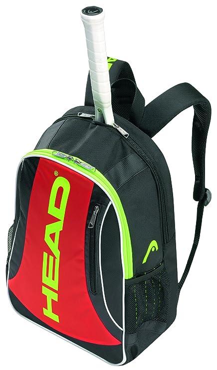 Head Elite - Bolsa para Material de Tenis, Color Negro/Rojo ...