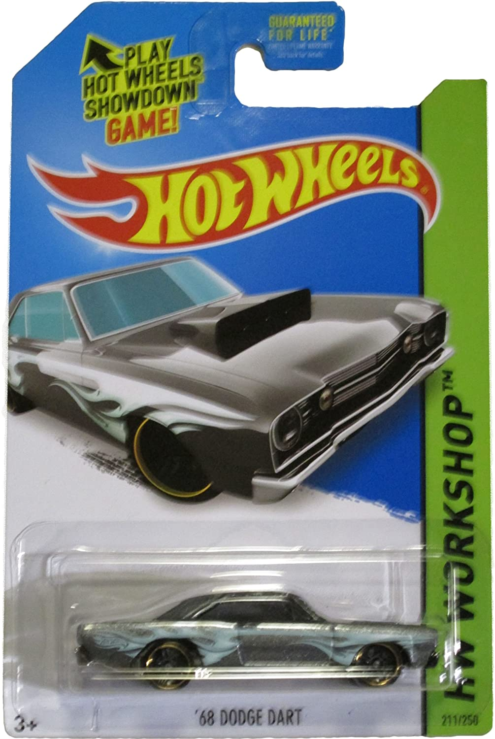Hot Wheels 2014 Heat Fleet Hw Workshop Grey '68 Dodge Dart 211/250 ...