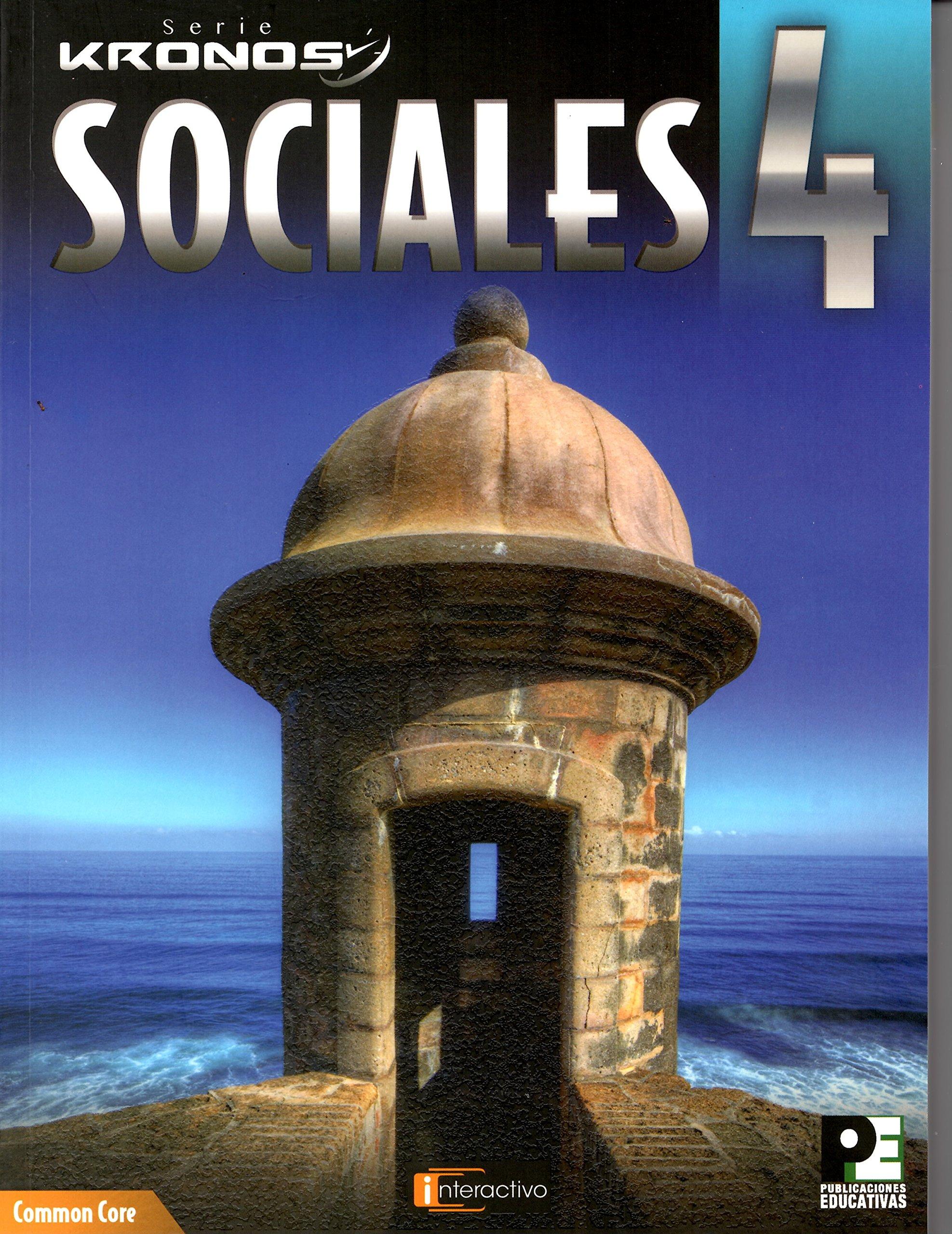 Sociales 4 (serie Kronos): Dr Gerardo Alberto Hernandez Aponte, Carlos  Valentino Romero Caceres: 9781879812291: Amazon: Books