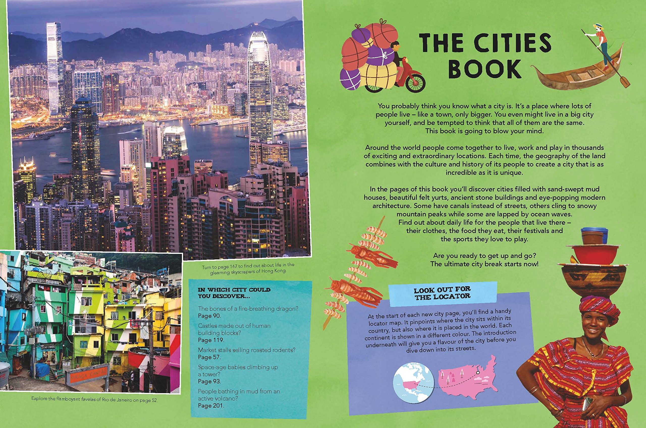 Cities Book, The [LP KIDS AU/UK] 1 (Lonely Planet Kids