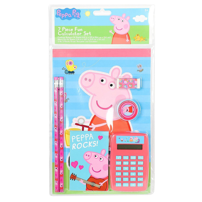 Amazon.com: Peppa Pig Diversión calculadora de 7 piezas ...