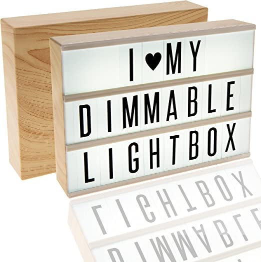 Amazon.com: Enzzone 380 azulejos, caja de luz de cine con ...