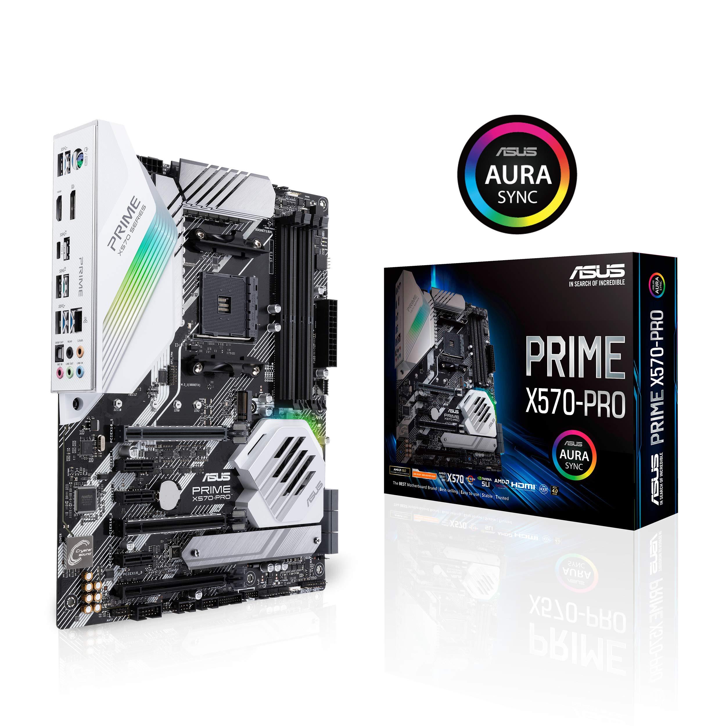 Asus Prime X570-pro Ryzen 3 Am4 With Pcie Gen4, Dual M.2 ...