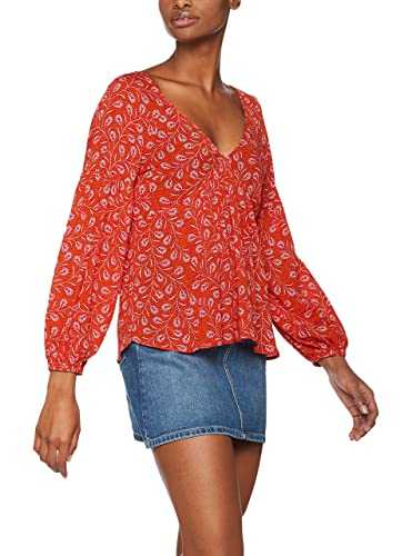 FIND Blusa con estampado estilo 'vintage' para Mujer