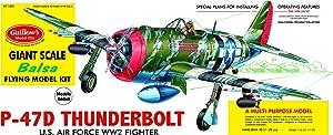 Guillow's P-47D Thunderbolt Model Kit