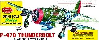 product image for Guillow's P-47D Thunderbolt Model Kit