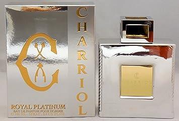 Amazoncom Charriol Royal Platinum Pour Homme Eau De Parfum Spray