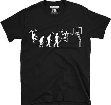6TN evolución de Baloncesto Camiseta - Negro, Small: Amazon.es: Ropa y accesorios