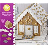 Wilton 2104-6867 Ready Dazzling Decorating Kit Bling,Gingerbread,House, Assorted