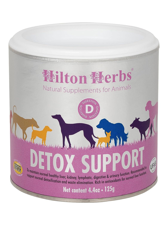 Hilton Herbs Detox Support Complément Alimentaire pour Chien Boîte de 125g 91022