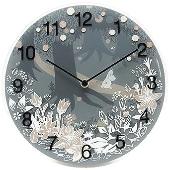【送料無料】 掛け時計 Moomin Time Pieces Moomin in the forest MTP-03-0008 ムーミンタイムピーシーズ