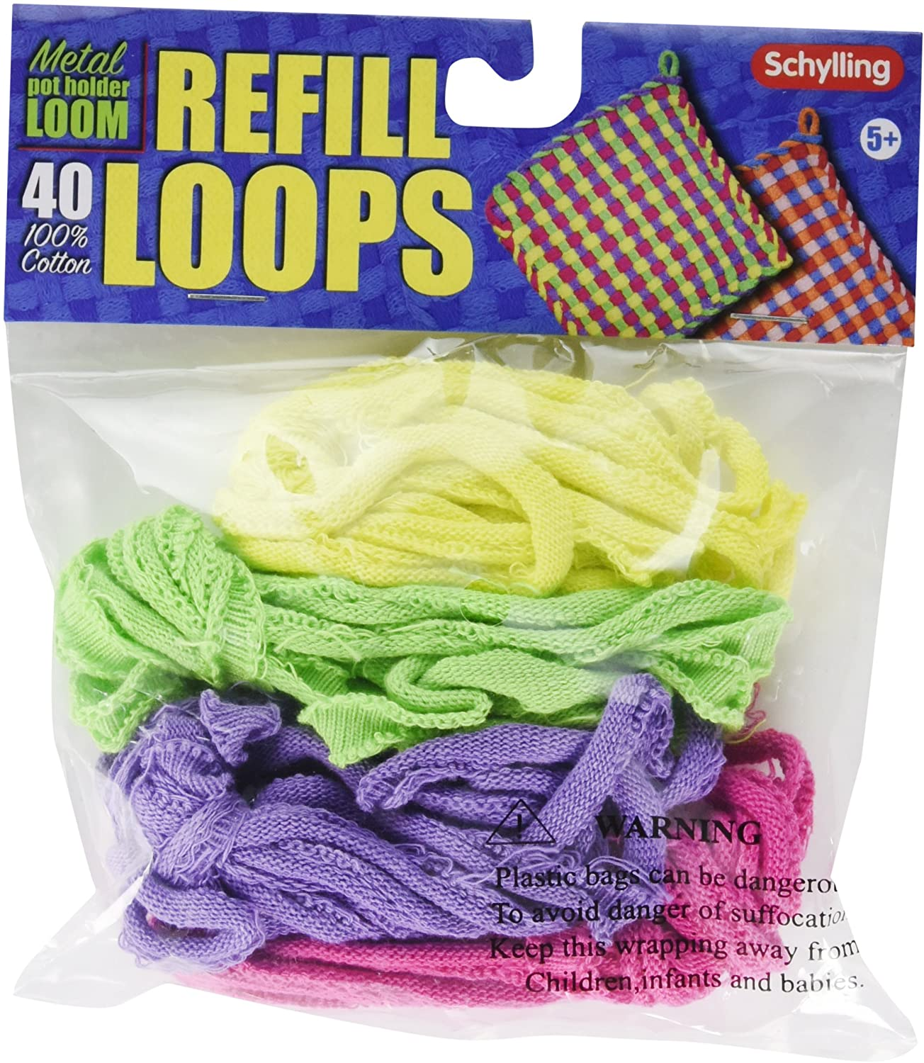 Loop Refills for Metal Potholder Loom