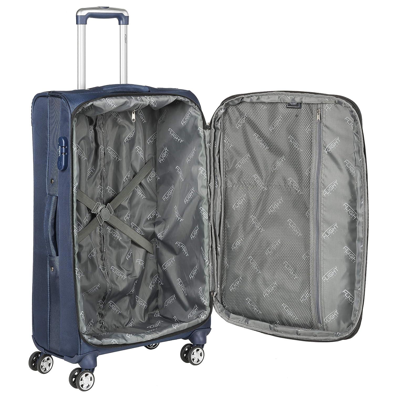 Virgin Atlantic Et Bien dautres easyJet Et Bagage en Soute Grande Bagage /à Main 56x35x22 cm Compatible avec Finnair Flight Knight 1680D 3 Tailles Valise L/ég/ère Taille Maximum Permise avec Delta