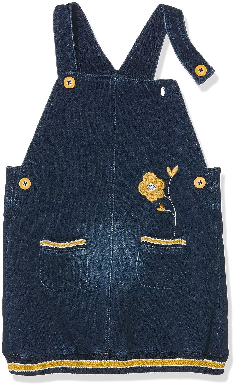 boboli Plush Pinafore Dress Denim For Baby Girl Conjunto de Ropa Unisex beb/é