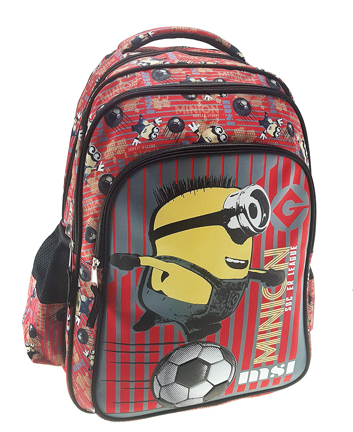 44 cm Graffiti Despicable Me Minions Mochila Escolar