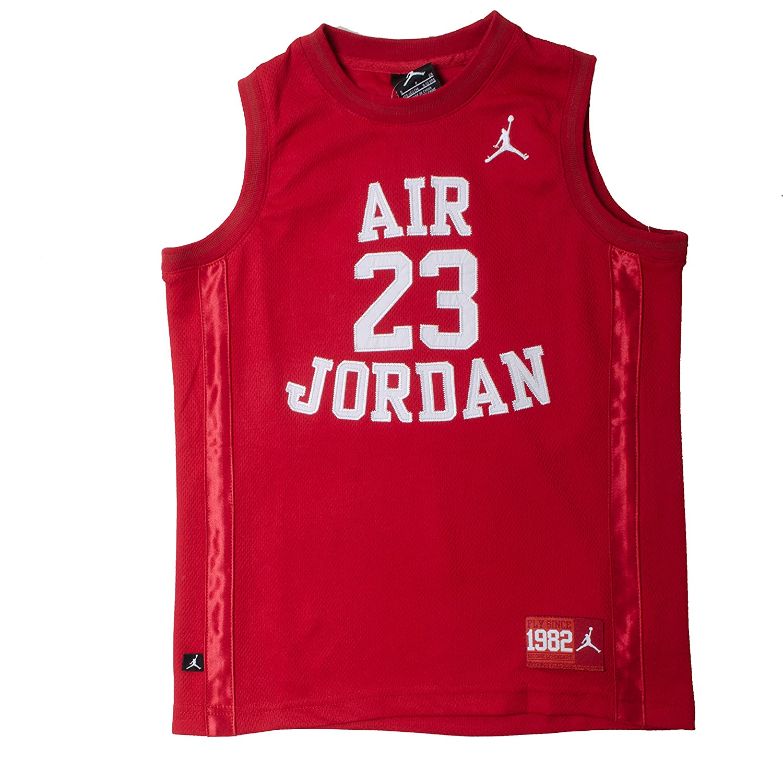 ca1a066dac9fb Amazon.com  Nike Boys Youth Air Jordan Muscle T-Shirt  Sports   Outdoors