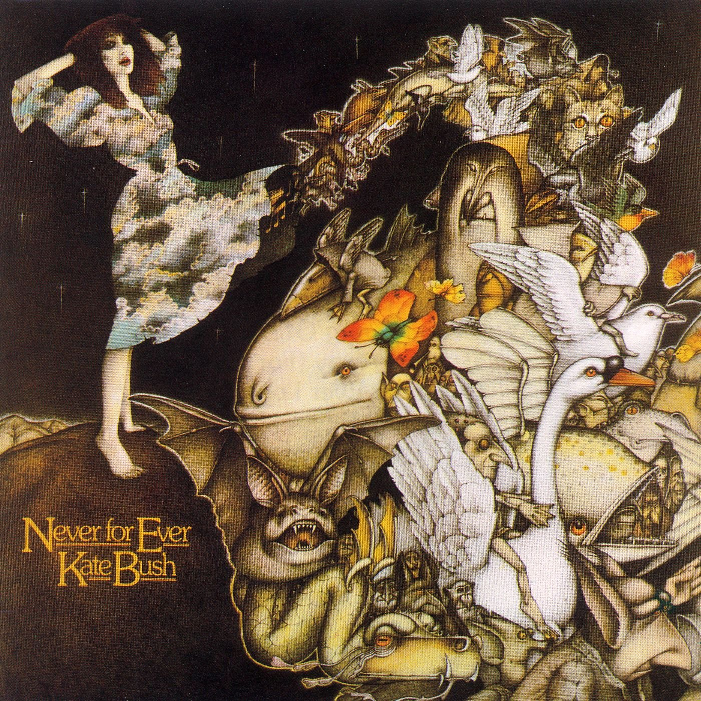 Image result for kate bush never for ever album cover