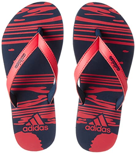 755644df49a6c0 Adidas Girls Jung Girl K Conavy Shored House Slippers - 1 UK India ...