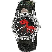 Red Balloon, Reloj pulsera para niños de cuarzo con esfera analógica para aprender la hora, negro, W002273