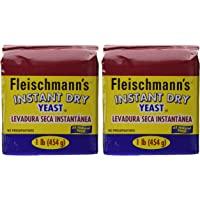 Fleischmanns Instant Yeast - 2/16 oz. bags