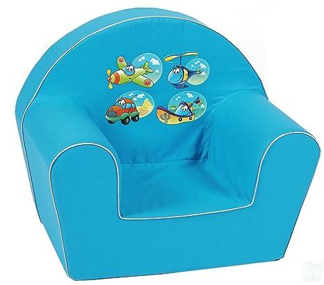 knorr-baby 490185 - Sofá para niños, color azul: Amazon.es: Bebé
