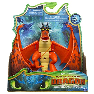 Dreamworks Dragons, Hookfang Dragon Figure with Moving Parts, for Kids Aged 4 and Up: Toys & Games