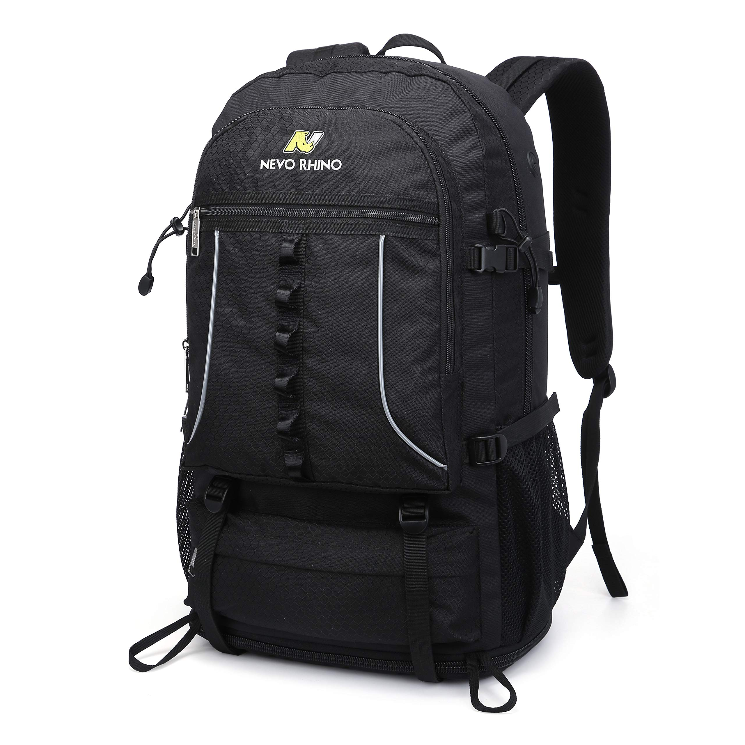NEVO RHINO 45L Hiking Backpack, Expandable Large Capacity Daypack,Lightweight Backpack for Camping Climbing by N NEVO RHINO