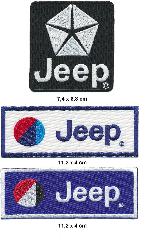 RG20 Lot de 3 /écussons /à Repasser pour Jeep