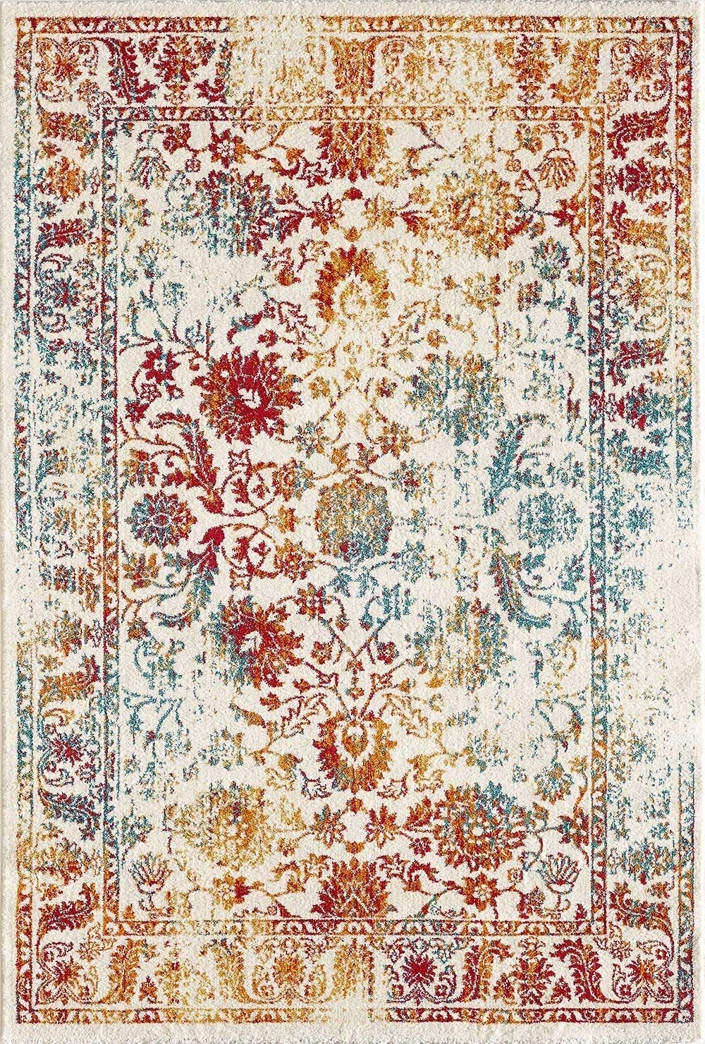CarpetFine  Vintage Holy Teppich 80x150 80x150 80x150 cm Weiß - Vintage 7e0a3d