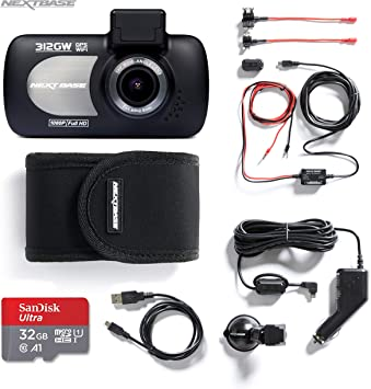 "NEXTBASE 312GW dash cam 2.7/"" LED Car Recorder Night Vision GPS Wi-Fi"