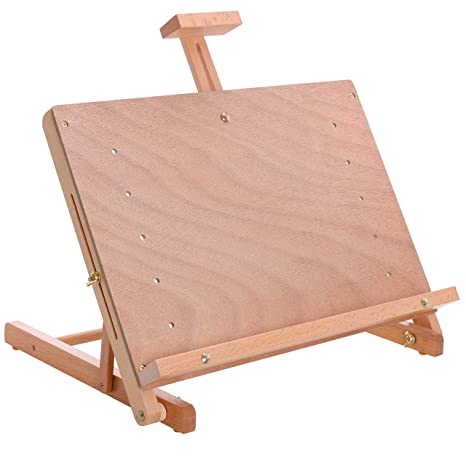 US Art Supply Caballete de mesa de madera para artistas: Amazon.es ...