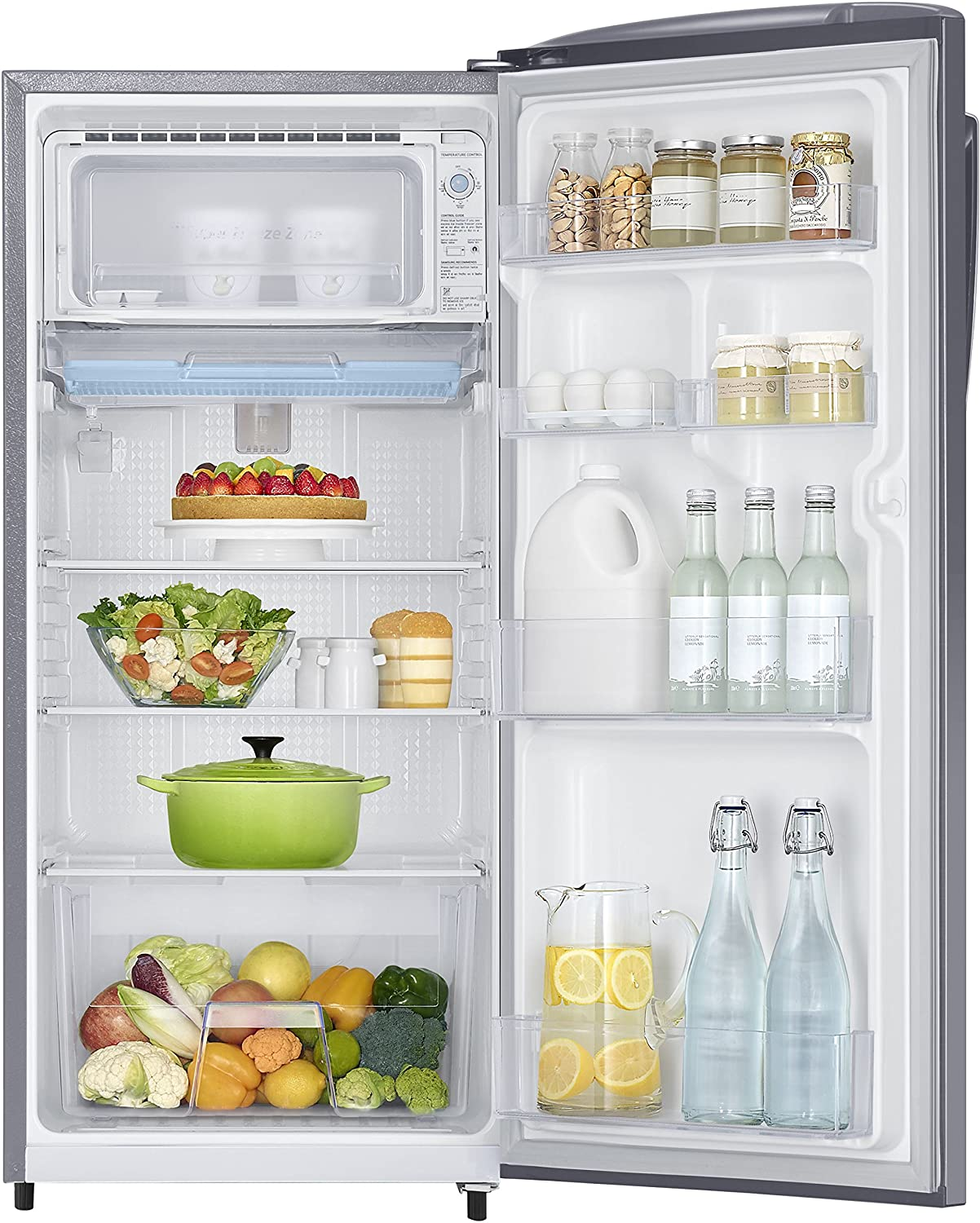 Samsung 192 L 4 Star Direct Cool Single Door Refrigerator (RR19J2414SA/TL,  Metal Graphite): Amazon.in: Home U0026 Kitchen
