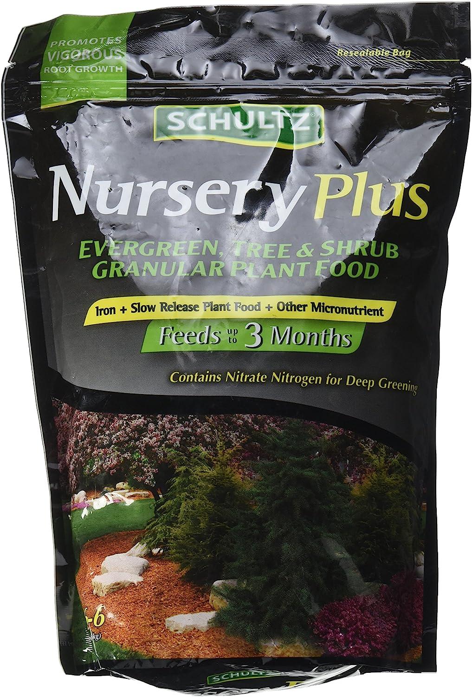 Schultz 018064 Spf48220 Nursery Plus Slow-Release Plant Food, 12-6-6, 3.5 Lbs