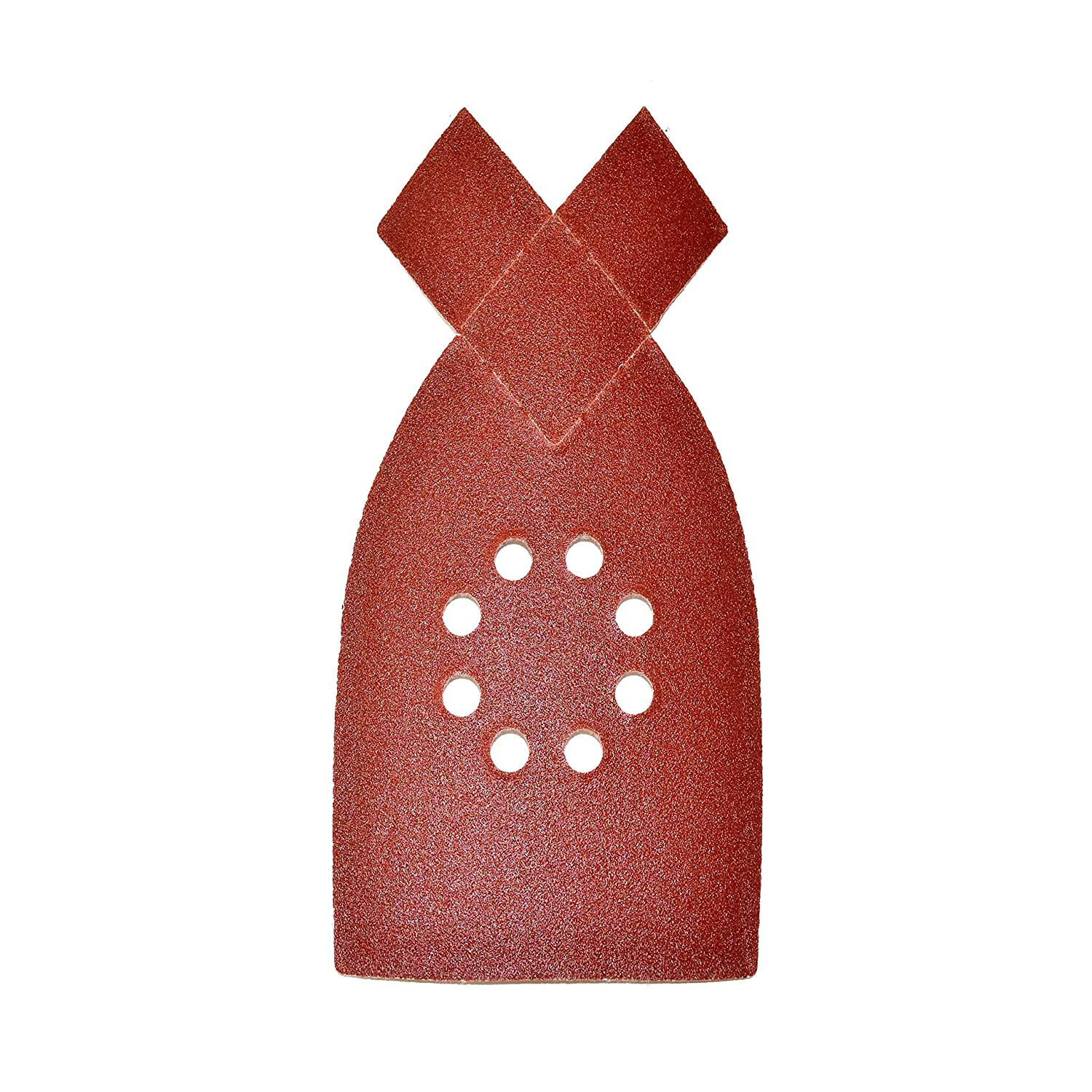 ALEKO 14SP09H 5 Pieces 150 Grit Mouse Sandpaper Sheets With 8 Holes 8 Inches