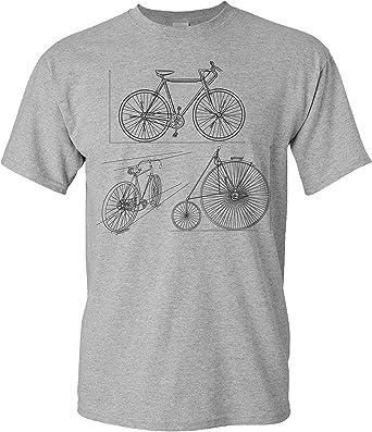 Camiseta de Bicileta: Bocetos de Bicicletas - Regalo Ciclistas ...