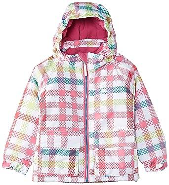 Amazon Trespass Girls Girls Marnie Waterproof Padded Check Adorable Patterned Ski Jackets