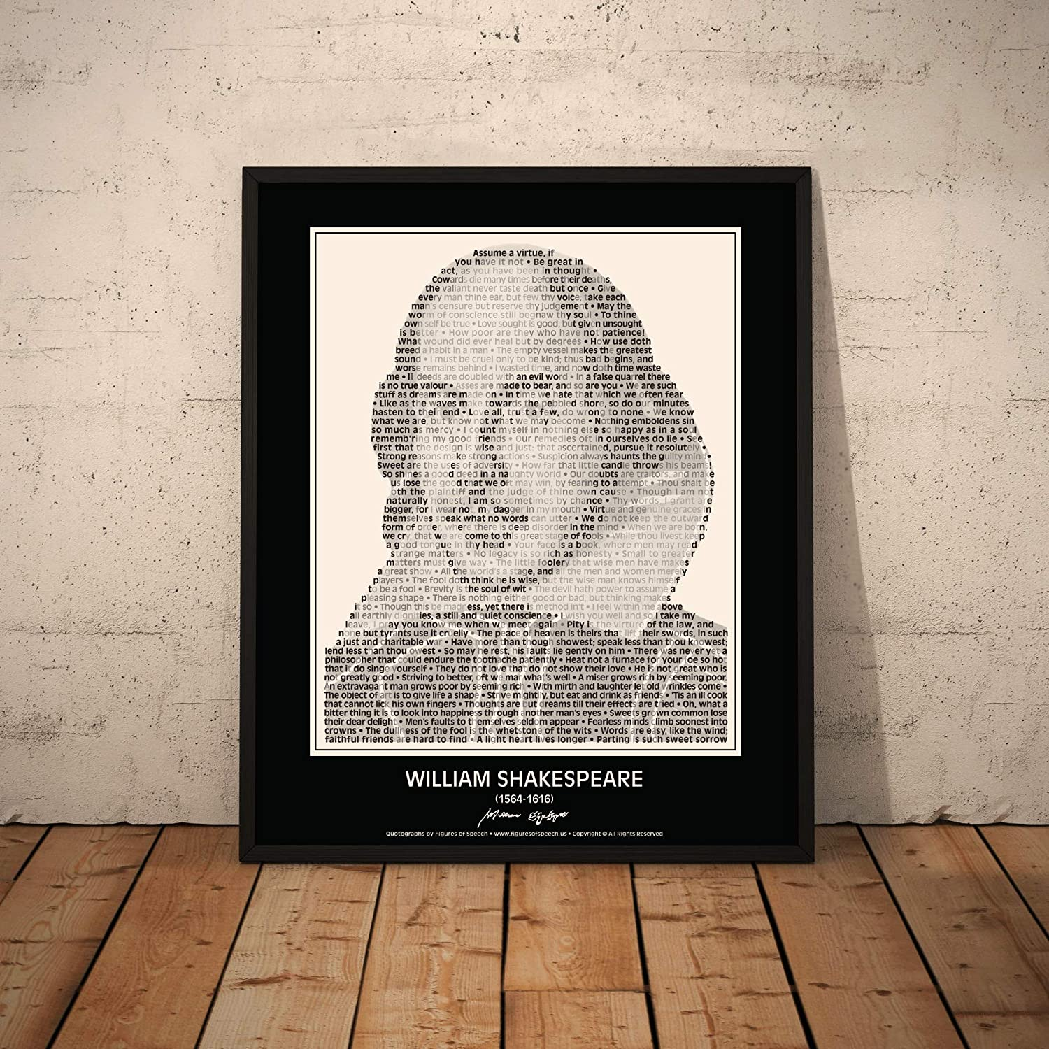 Shakespeare Inspirational Quote Poster Posters Print Prints Art Gift Gifts