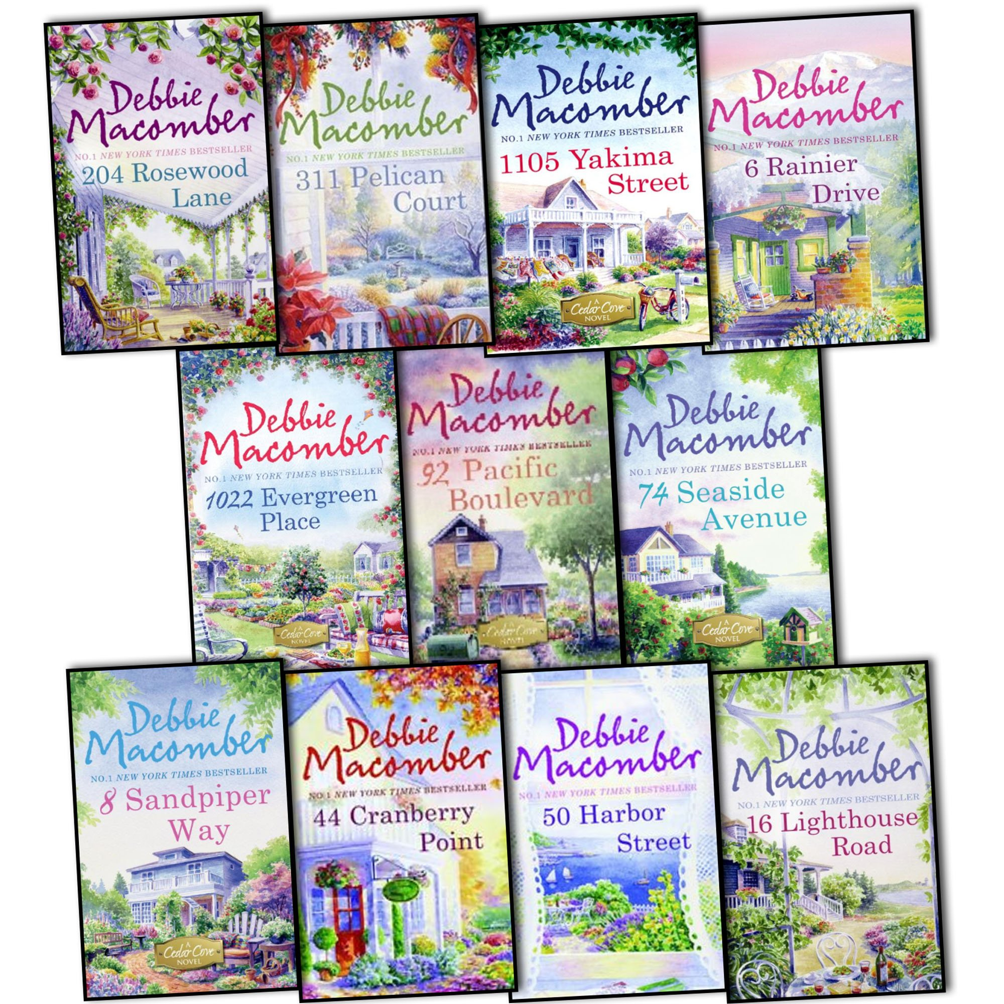 Download Debbie Macomber Cedar Cove 11 Books Collection Pack Set RRP: £91.65 ebook